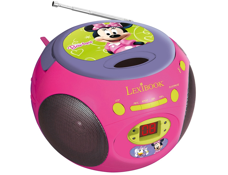 minnie mouse radio/cd boombox | cd player & radio