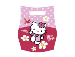 6 Partybeutel Hello Kitty