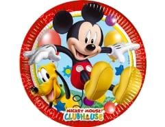 8 Teller 23cm Mickey Mouse