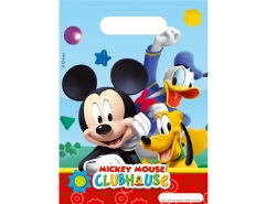 6 Partybeutel Mickey Mouse