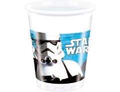 8 Plastikbecher Star Wars