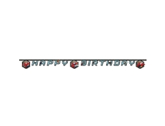 Girlande Spiderman Happy Birthday