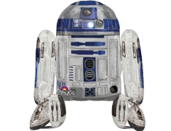 Folienballon R2D2 laufend