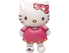 Folienballon Hello Kitty laufend