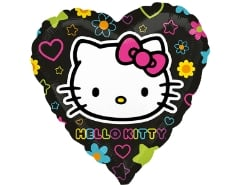 Folienballon Hello Kitty Herz