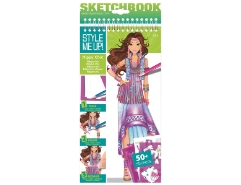 Small Size Hippie Chic Sketchbook