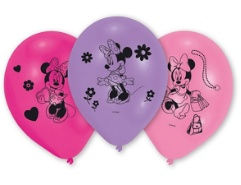 Ballone Minnie Mouse 10Teile