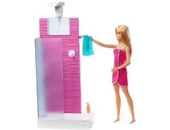 Deluxe-Set Shower & Puppe