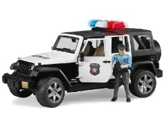 Jeep Wrangler Unlimited Rubicon Polizei