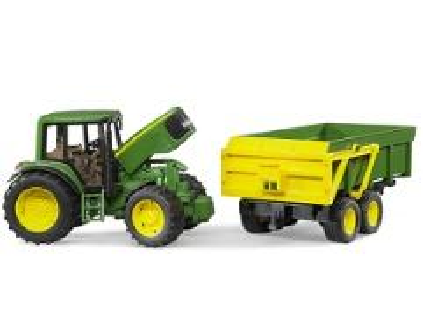 Bruder john deere 6920 mit anhänger traktoren