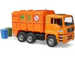 MAN TGA Müll-LKW Orange