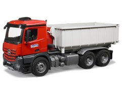 MB Arocs LKW mit Abrollcontainer