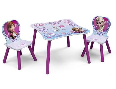delta children tisch mit st hlen disney frozen kinderm bel. Black Bedroom Furniture Sets. Home Design Ideas