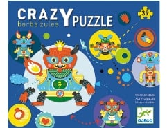 Crazy Puzzle Babazul 39Teile