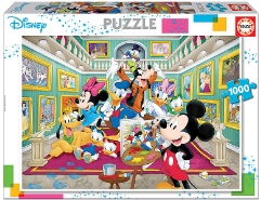 Mickey Mouse Art Gallery 1000Teile