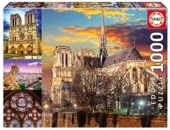 Notre Dame Collage 1000Teile