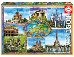 Seven Wonders of Europe 1500Teile