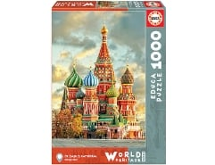 St Basils Cathedral Moscow 1000Teile