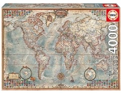 The world, Executive Map 4000Teile