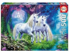 Unicorns In The Forest 500Teile