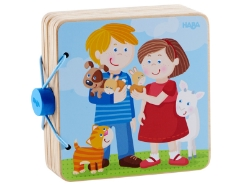 Holz-Babybuch Tierkinder
