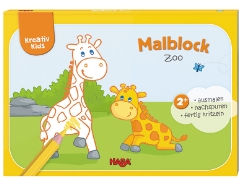 Malblock Zoo