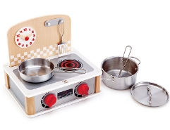 2-in-1 Spielküche & Grill Set
