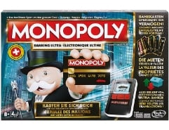 Monopoly Banking Ultra Swiss Edition
