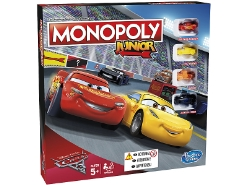 Monopoly Junior Disney Cars 3