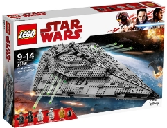First Order Star Destroyer 75190