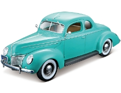 Ford Deluxe Coupe 1939 Grün