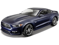 Ford Mustang GT 50th Anniversary Blau