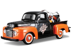 Ford Pick Up 1948 & FLH 1958 Duo Glide