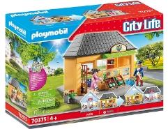 playmobil city life mein supermarkt 70375 geb ude. Black Bedroom Furniture Sets. Home Design Ideas