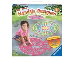Outdoor Mandala-Designer Flowers & Butterflies