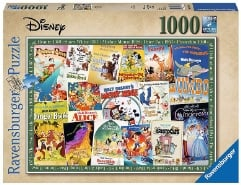 Disney Vintage Movie Poster 1000Teile