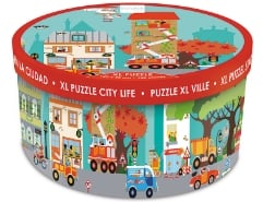 Boden Puzzle Stadt 100Teile