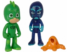 Figuren Set Gecko & Ninja