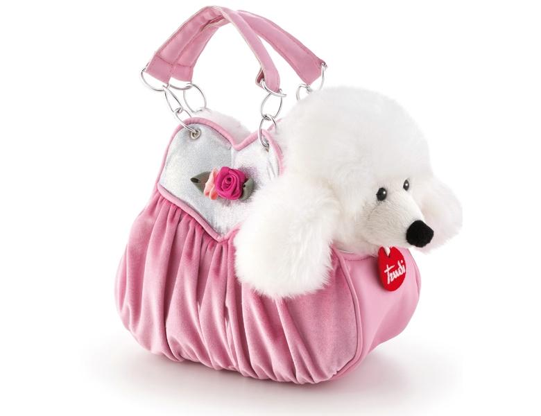 Rosa pudel tasche