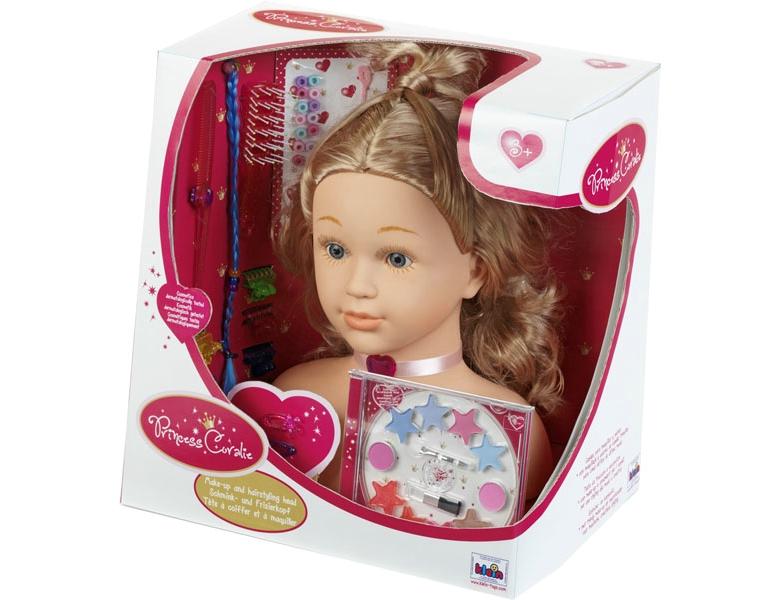 kleintoys princess coralie schmink und frisierkopf. Black Bedroom Furniture Sets. Home Design Ideas