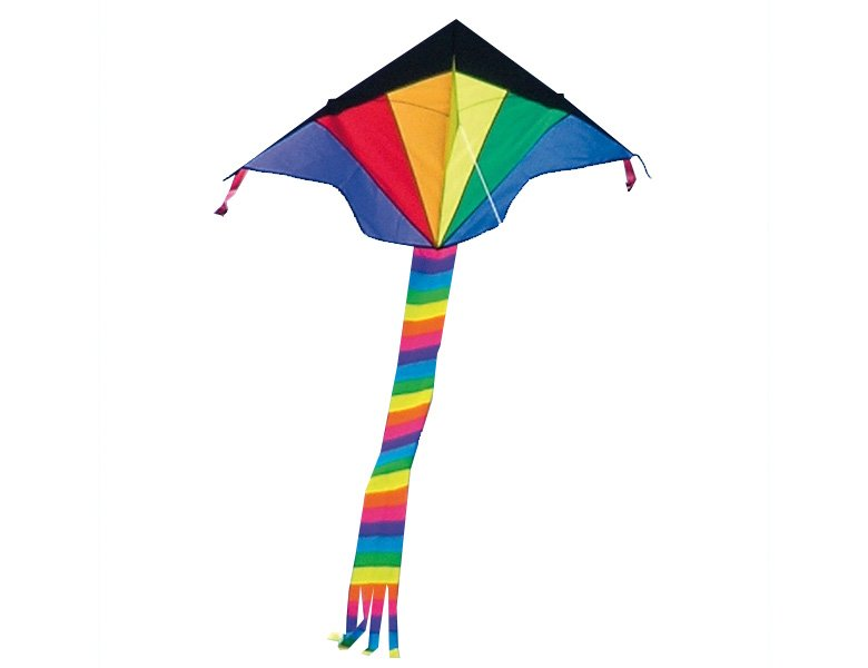 HQ Invento Eco Line Kinderdrachen Simple Flyer Rainbow 120x75cm