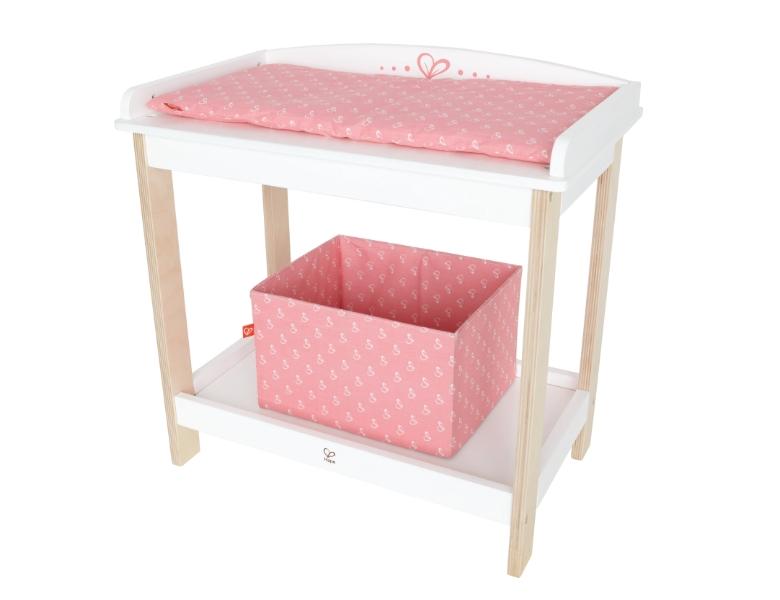 hape toys wickeltisch puppen zubeh r. Black Bedroom Furniture Sets. Home Design Ideas