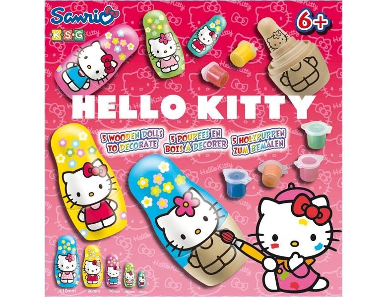 Hello Kitty Badezimmer Artikel : KSG Holzpuppen Hello Kitty