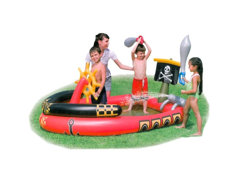 Bestway Spielcenter Pool Pirat | Kinderpool
