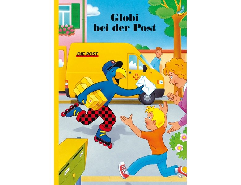 globi verlag globi bei der post kinderb cher. Black Bedroom Furniture Sets. Home Design Ideas