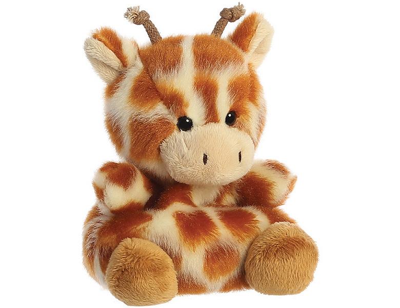 aurora palm pals giraffe safara 13cm  wildtiere plüsch