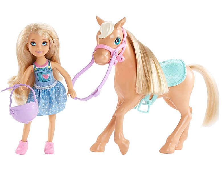 Barbie Chelsea mit Pony