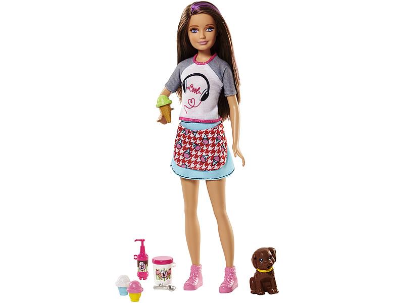 barbie familie freunde cooking baking skipper modepuppen. Black Bedroom Furniture Sets. Home Design Ideas