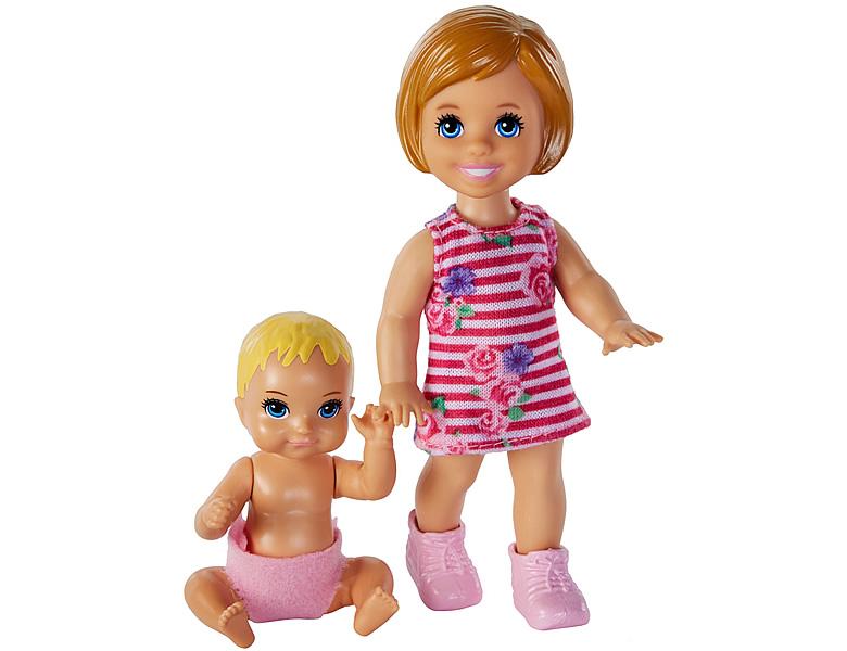 barbie skipper babysitters inc sibling 2er pack puppen 1. Black Bedroom Furniture Sets. Home Design Ideas
