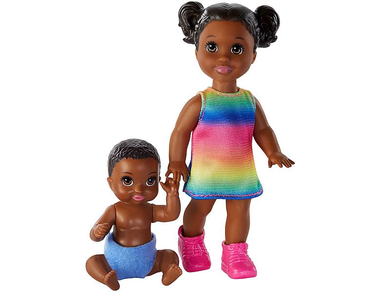 barbie skipper babysitters inc sibling 2er pack puppen 3. Black Bedroom Furniture Sets. Home Design Ideas